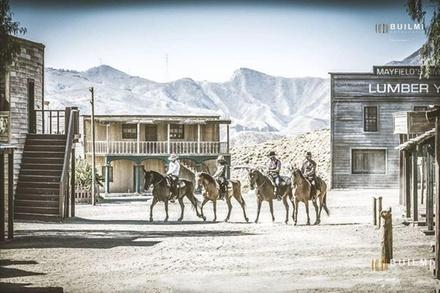 Entrada a Fort Bravo