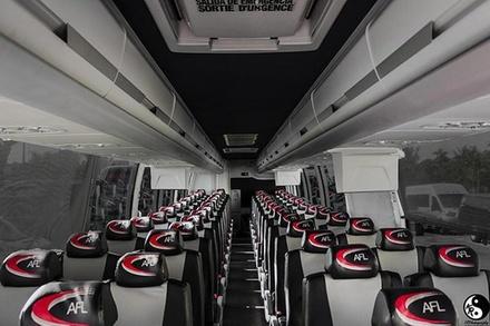 56 Passenger Motor Coach Transport Airport/port Transfers, Miami/broward