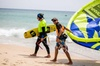 Clases individuales, semiprivadas y en grupo de kitesurf