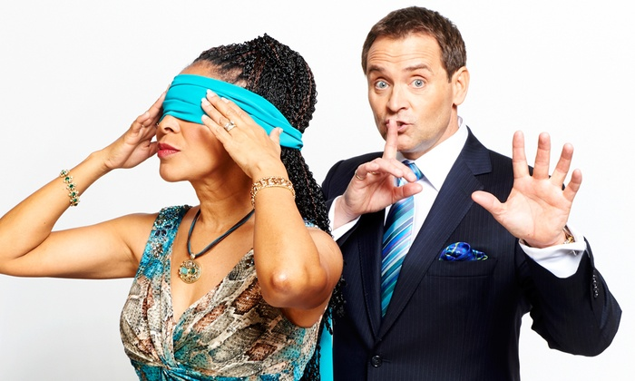 Baltimore Theatre Project - Baltimore Theatre Project: The Evasons: World-Famous Mentalist Duo at Baltimore Theatre Project