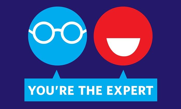 Davis Square Theatre - Davis Square Theater: You're the Expert Live Taping