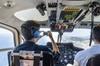 Viaje en helicóptero por la costa de Barcelona con servicio de reco...
