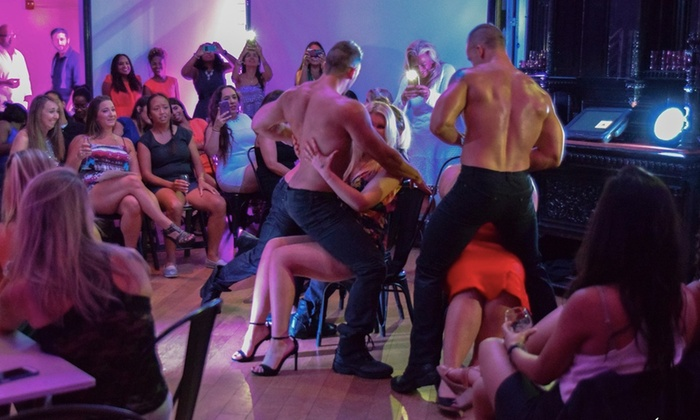 Capitale - Northwest Washington: More Naughty Than Nice: Valentine's Weekend Male Revue Show at Capitale
