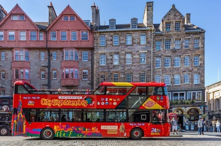 City Sightseeing Edinburgh HopOn HopOff Tour