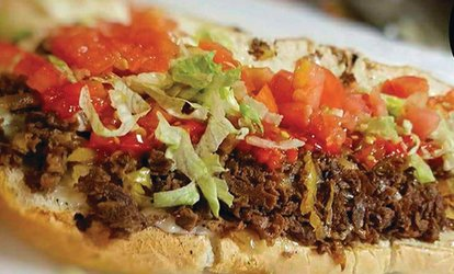 image for $10 For $20 Worth Of Philly Cheesesteaks & More