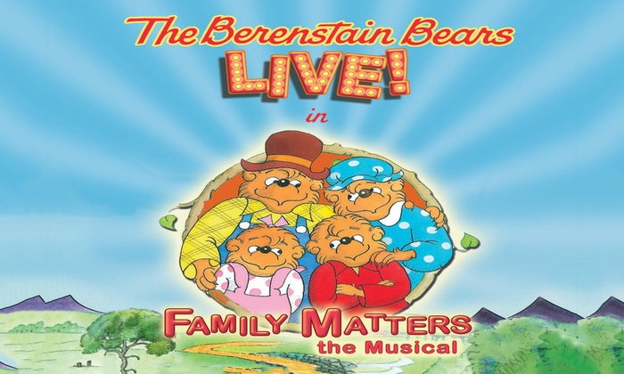 Lauderhill Performing Arts Center  - Central Broward Regional Park: The Berenstain Bears LIVE! at Lauderhill Performing Arts Center