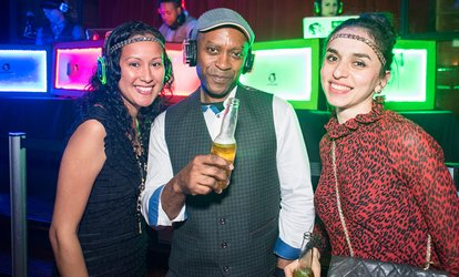 image for 1920s Great Gatsby Silent Disco Party - Friday, Apr. 20, 2018 / 11:00pm (Themed Party)