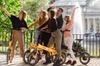 Recorrido en bicicleta eléctrica Madrid 360: ciudad y parques (medi...
