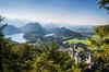 Tagesausflug von München aus im Luxusbus nach Neuschwanstein und Li...