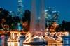 Swan Boat Night Ride at Echo Park Lake