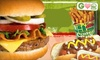 $7.50 for $15 Worth of Burgers & More