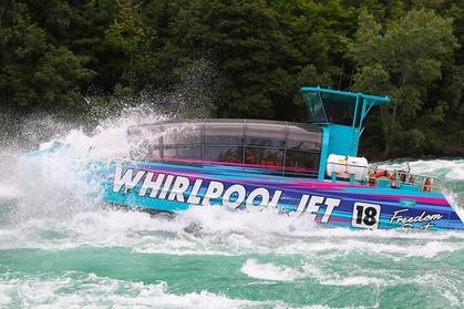 Niagara Falls USA Domed Jet-Boat Ride photo
