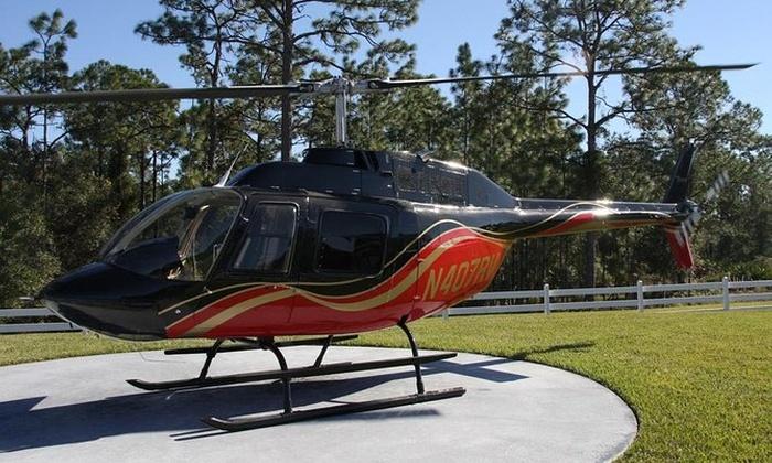 Orlando Helicopter Tour from Walt Disney World Resort Area