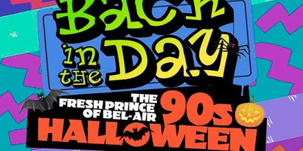 The Fresh Prince of Bel-Air '90s Halloween Party - Tuesday October 31, 2017 / 9:01pm