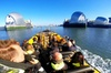 PRIVATE THAMES BARRIER BUBBLE EXPERIENCE TO/FROM EMBANKMENT PIER - ...