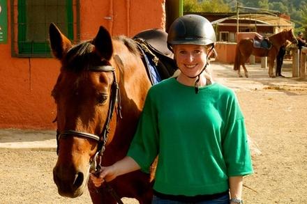 Excursión privada de medio día en el Parque Natural con paseo a caballo en Barcelona