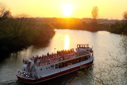 Ouse River 1Hour Early Evening Cruise from York