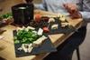 Déjeuner dégustation de fromage et de vin dans une cave du XVIIesi...