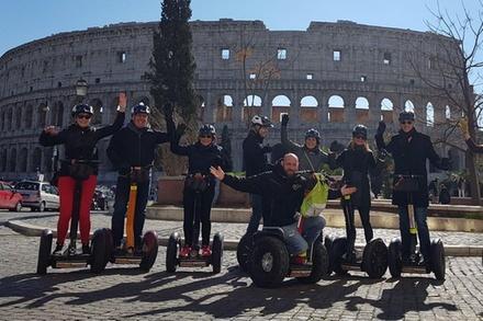 Coupon Esperienze Groupon.it Tour di Roma in Segway di 2 ore intorno al Colosseo