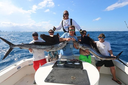 Half or Full-Day Option Deep Sea Fishing Charters and Tours Big Game