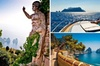 Tour tranquillo dell'isola di Capri in barca da Napoli