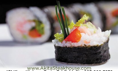 $15 For $30 Worth Of Japanese Cuisine & Beverages