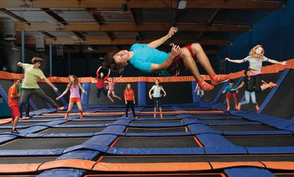 image for $19 For 90-Minute Jump Passes For 2 (Reg. $38)
