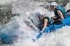 Rafting en el río Gallego en Murillo de Gallego, España, por UR Pir...