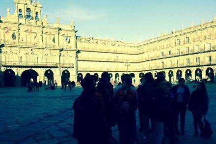 Visita a pie en Salamanca