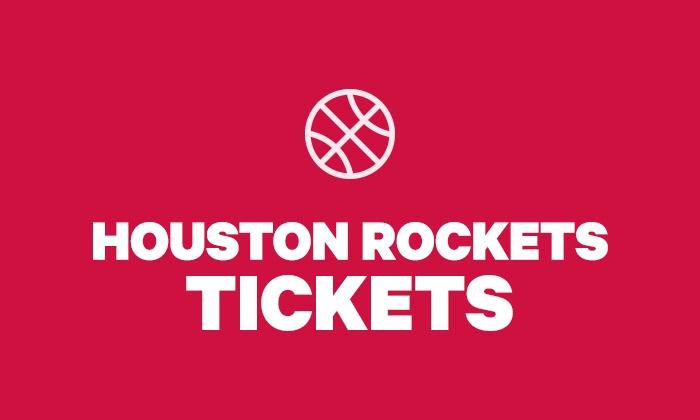new concept 2ca7d 7386d Houston Rockets Tickets