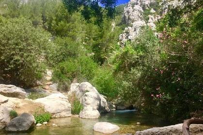 Excursión por la tarde a las cataratas de Algar desde Benidorm