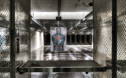$23 For 2 Shooting Range Admissions (Reg. $46)