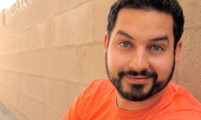 Comedian Ahmed Bharoocha at Stand-Up Scottsdale