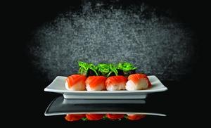 $15 For $30 Worth Of Sushi & Hibachi Cuisine at OSAKA, plus 6.0% Cash Back from Ebates.