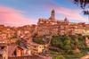Tour enologico al tramonto di Siena e del Chianti con cena partendo...