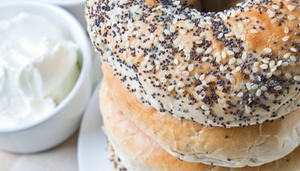 BAGELS N' CREAM: $10 For $20 Worth Of Bagels, Sandwiches & More
