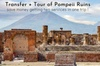 Trasferimento privato da Napoli a Sorrento con tour delle rovine di...