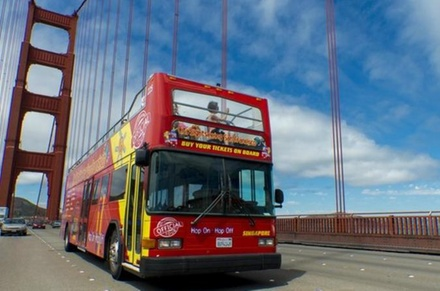 The Viator Exclusive features San Francisco tour venues that can be done by either bus or bike.