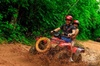Discover the Adrenaline with our tour with Atvs ziplines and a real...