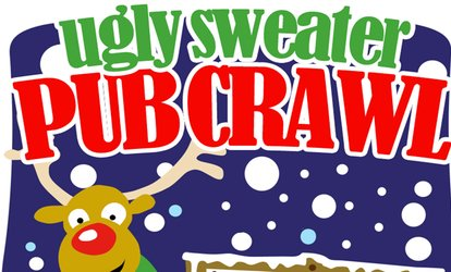 image for Ugly Sweater Pub Crawl Boston - Saturday, Dec. 2, 2017 / 12:00pm (12:00pm - 4:00pm)