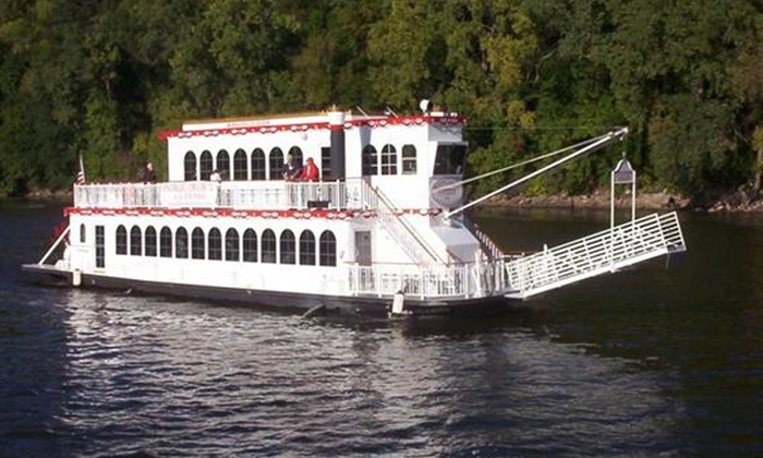 Bohemian Flats Port - Cedar-Riverside: Happy Hour & Pizza Cruise on the Minneapolis Queen