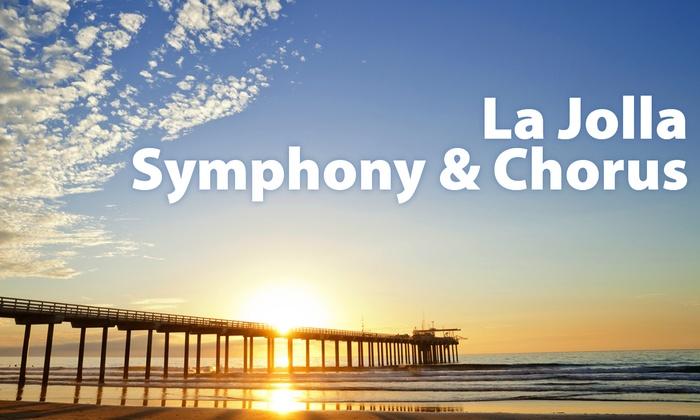 Mandeville Auditorium - Northern San Diego: La Jolla Symphony & Chorus 61st Season Opener at Mandeville Auditorium