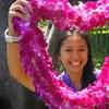 Traditional Airport Lei Greeting on Kona Hawai'i