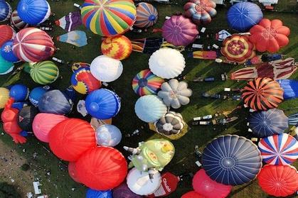 Experience: Bristol Balloon Fiesta Champagne Flight from Bristol For just: £275.0