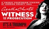 Tickets to see Witness for the Prosecution
