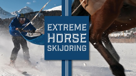 Extreme Horse Skijoring - Saturday, Feb. 17, 2018 / 1:00pm-4:00pm (Gates Open at 11:00am)
