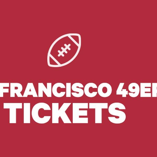 cheap for discount d05b1 a1f78 San Francisco 49ers Tickets