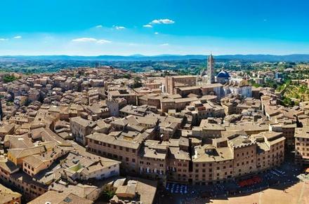 Tour privato indipendente di un giorno a Siena e San Gimignano da F...