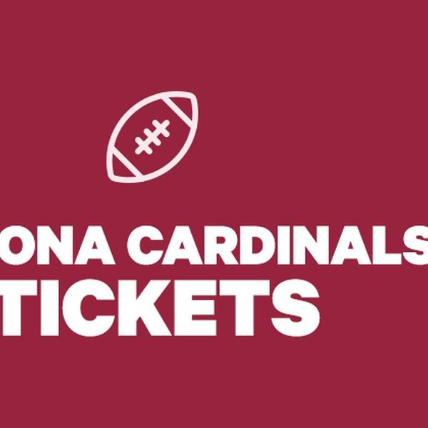 newest b48b2 caede Arizona Cardinals Tickets