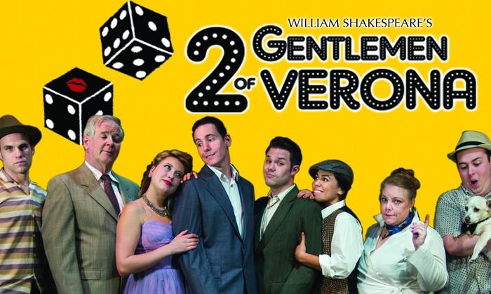 Big Idea Theatre - North Sacramento: 2 Gentlemen of Verona at Big Idea Theatre